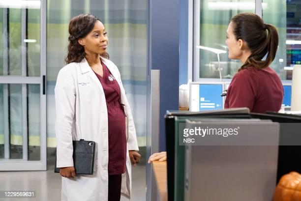"Those Things Hidden In Plain Sight"" Episode 602 -- Pictured: Danielle Moné Truitt as Dr. Angela Douglas, Torrey DeVitto as Natalie Manning --"