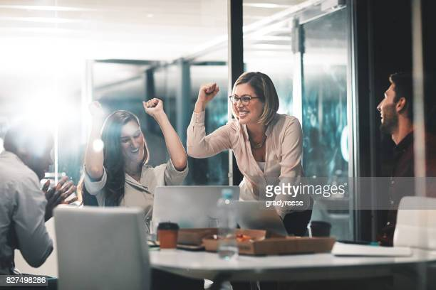 those who work hard, win - happy stock photos and pictures