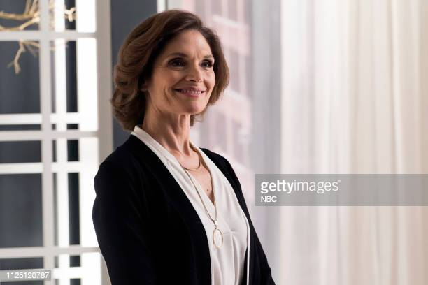 BLINDSPOT Though This Be Madness Yet There Is Method In't Episode 413 Pictured Mary Elizabeth Mastrantonio as Madeline Burke