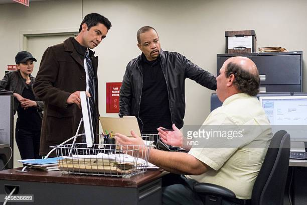 UNIT Thought Criminal Episode 1523 Pictured Kimiko Glenn as Lily Deng Danny Pino as Det Nick Amaro Ice T as Det Odafin Tutuola Brian Baumgartner as...