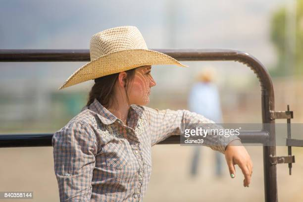 Thoughtful Cowgirl