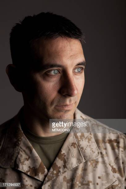 Thoughtful Marine