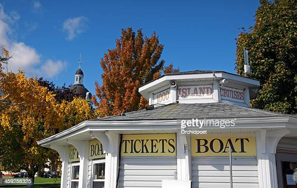 thousand island cruises - kingston ontario stock photos and pictures