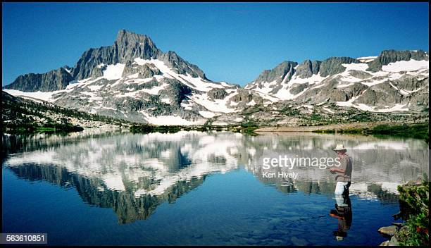 Thousand Island Lake featuring Banner Peak in the Ansel Adams Wilderness A popular area for backpackers and fisherman 12–miles West of Mamouth lakes...