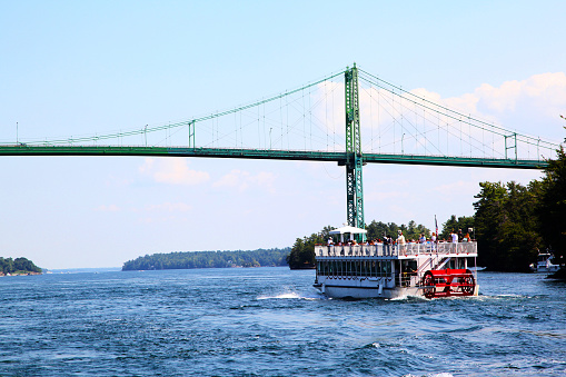 Thousand Islands International Bridge Over Saint Lawrence River 1058429196