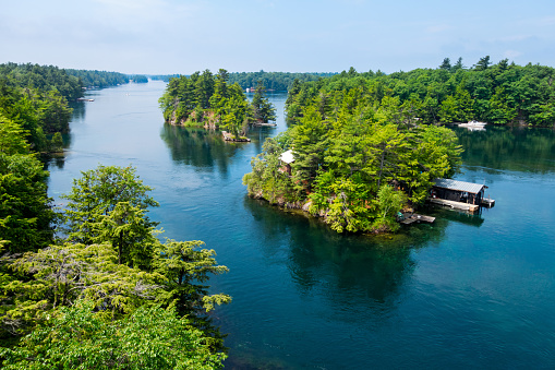 Thousand Islands New York State and Ontario Canada 479265348
