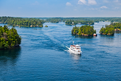 Thousand Islands Tour Boat New York State and Ontario Canada 479273024