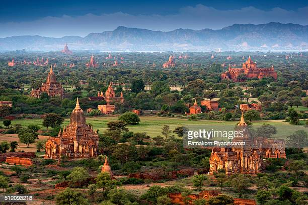 Thousand Pagoda of Bagan