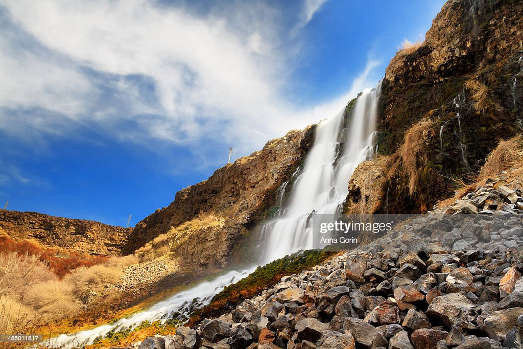 Thousand Springs Falls, Ritter Island, Idaho : Stock Photo