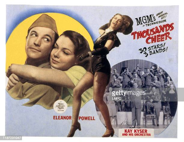 Thousands Cheer poster Gene Kelly Kathryn Grayson Eleanor Powell Kay Kyser and His Orchestra 1943