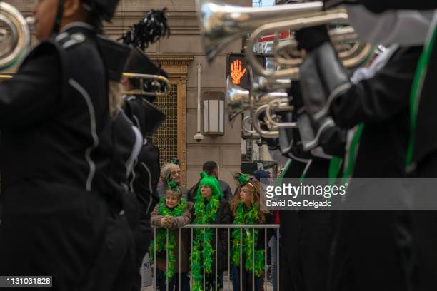 Thousands gather for the 2019 annual St Patrick's Day parade on March 16 2019 in New York City The New York City St Patrick's Day parade dating back...