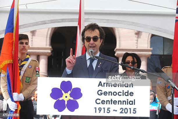 Thousands gathered at Queens Park today to mark the centennial of the Armenian Genocide Keynote speakers included Premier Kathleen Wynne Mayor John...