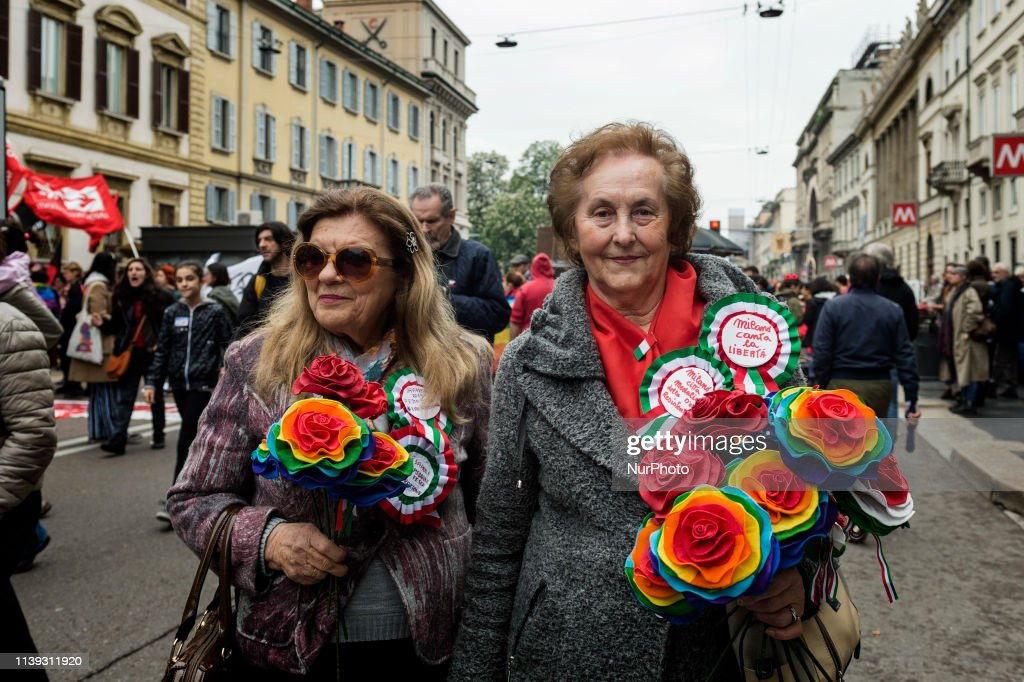 ITA: April 25 Liberation Day Of Italy From The Nazi-Fascists