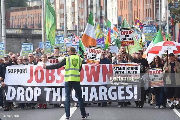 Thousands marched through the streets of Dublin today calling for the abolition of water charges protesters also called for the government not to...