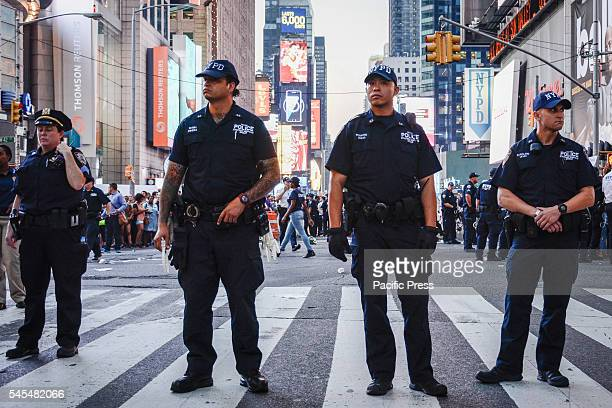 Thousands Marched through the streets of New York City after videos were released showing two separate incidences of police shooting and killing two...
