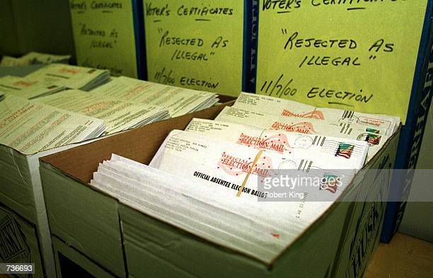Thousands of Absentee Ballots considered to be illegal are archived in alphabetical order with thousands of other illegal Absentee Ballots stored at...