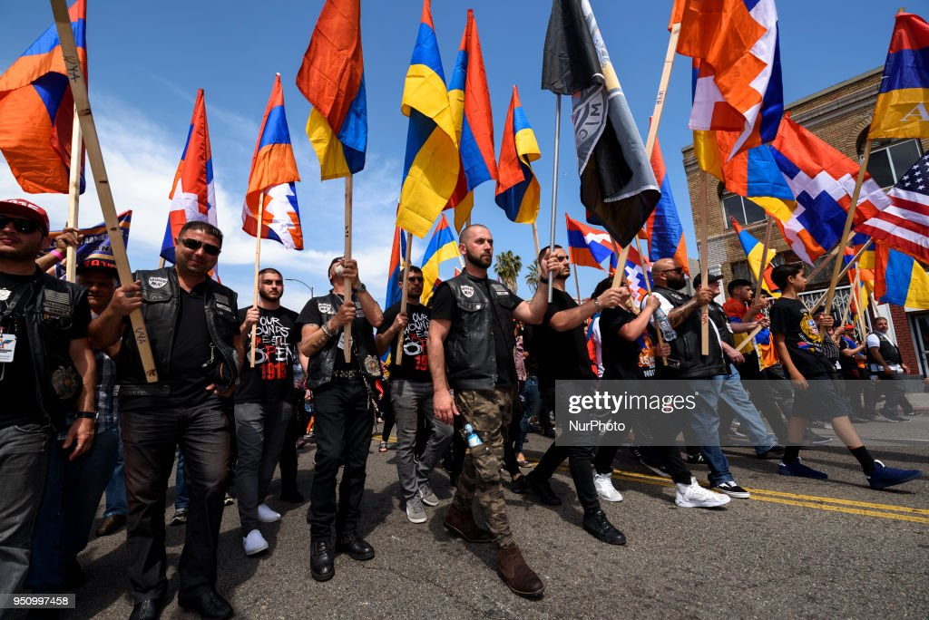 Armenian Genocide March for Justice Los Angeles