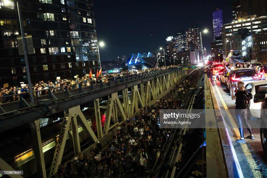 Thousands of Breonna Taylor protestors marched in NYC : News Photo