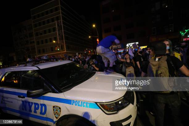 Thousands of Breonna Taylor protestors marched after no officers charged directly with Breonna Taylor's death by Louisville court in New York City...