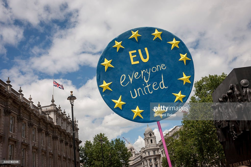 March For Europe Against Brexit In London : News Photo