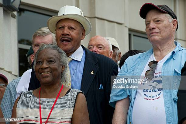 Thousands of citizens from across the country converged in Washington DC on August 28 2013 to march from Capitol Hill to the Lincoln Memorial during...