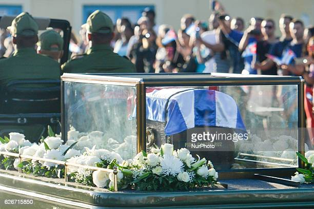Thousands of Cubans lined the streets of Havana on Wednesday morning to bid goodbye to Fidel Castro as a caravan carrying his ashes began a fourday...