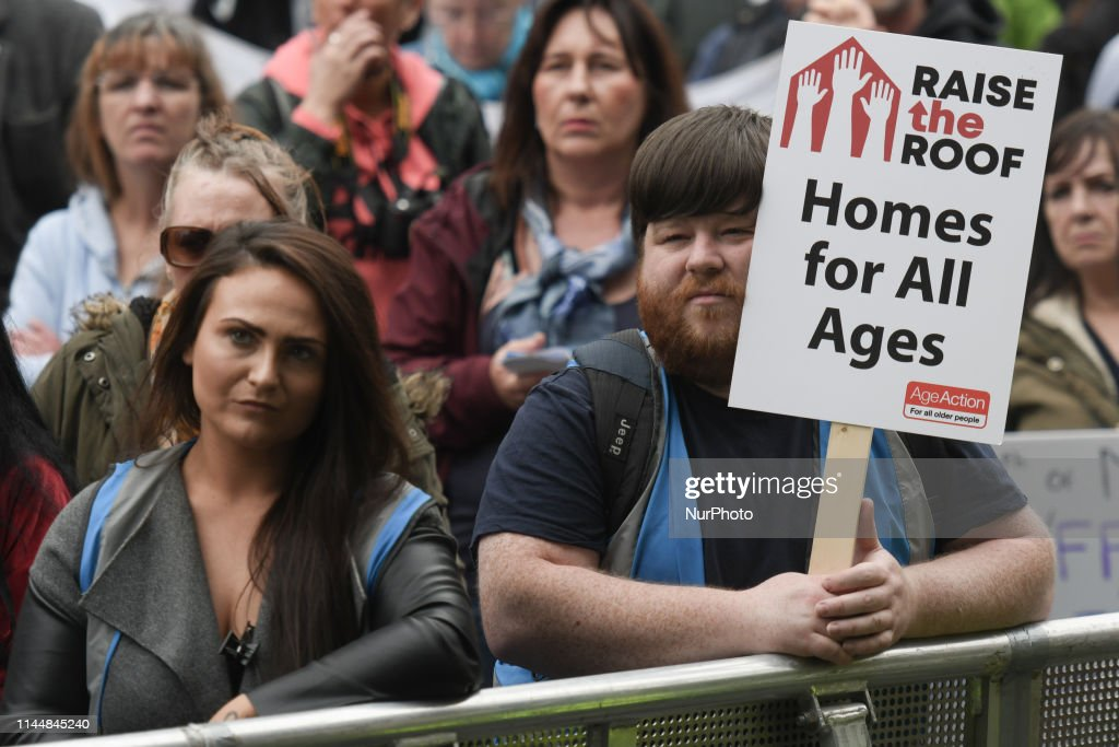 IRL: Protest Against The Housing Crisis In Dublin