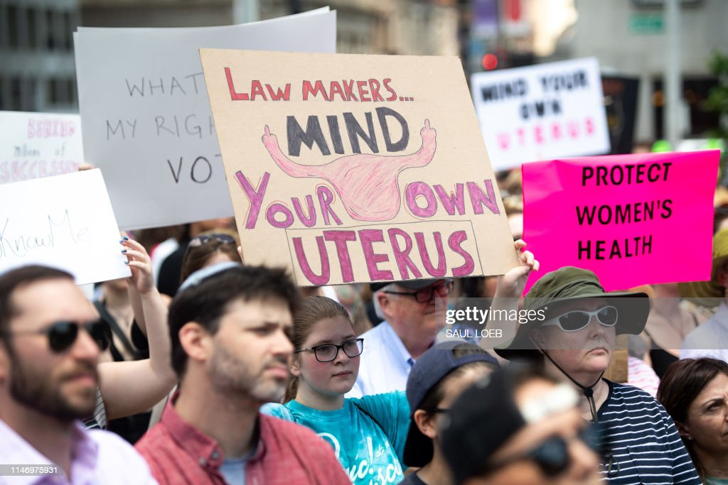 US-politics-RIGHTS-abortion : News Photo