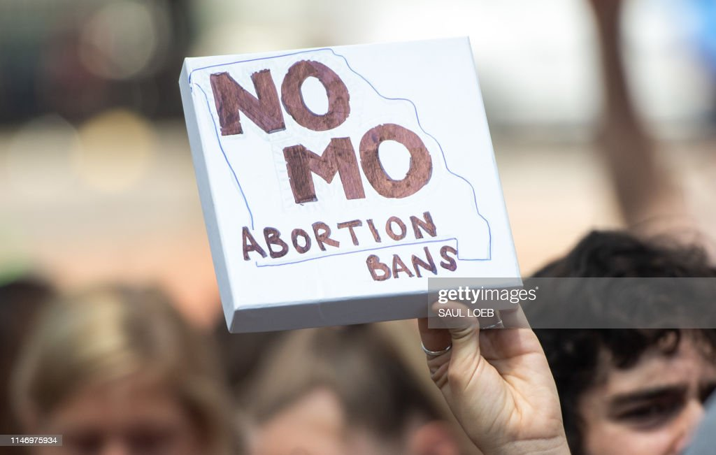 TOPSHOT-US-politics-RIGHTS-abortion : News Photo