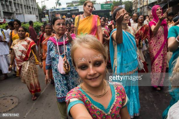 Thousands of devotees have taken part in this holy procession with great respect to seek the blessings of lord jagannath during rath yatra in Kolkata...