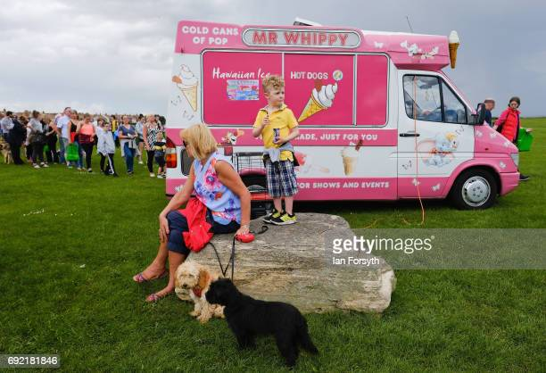 Thousands of excited participants and their owners take part in the Great North Dog Walk on June 4 2017 in South Shields England Founded in 1990 by...