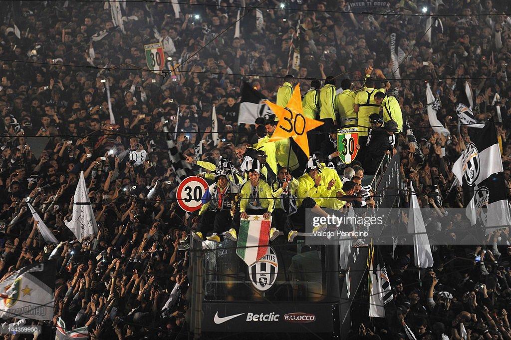 Juventus FC Celebrate Scudetto Win : Foto di attualità