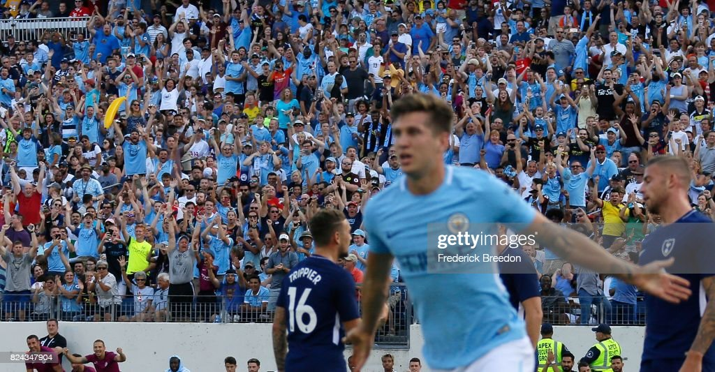 International Champions Cup 2017 - Manchester City v Tottenham Hotspur : News Photo