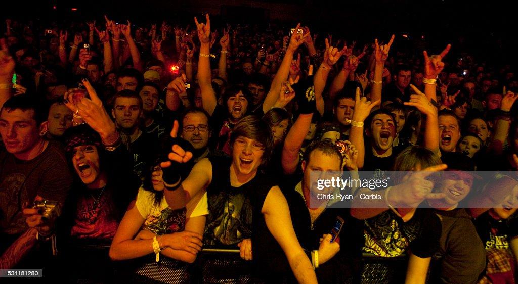 USA - Music - Avenged Sevenfold Perform in Oregon : News Photo