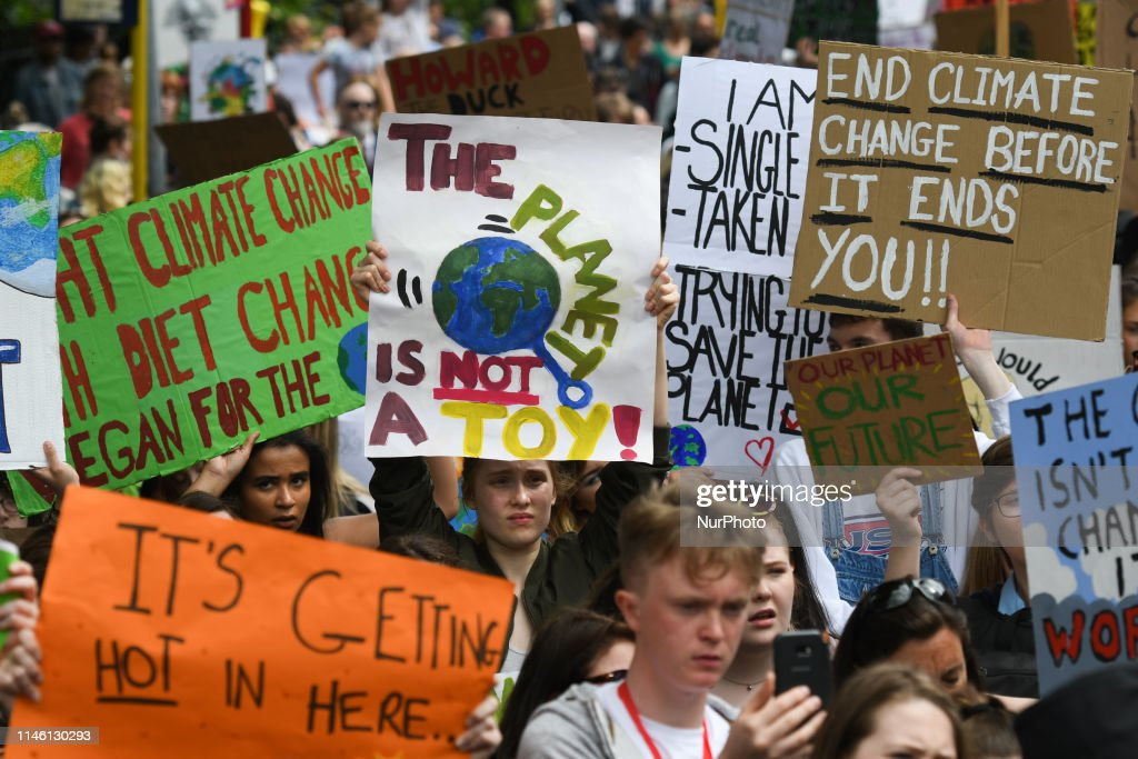 IRL: Youth March Against Climate Change In Dublin