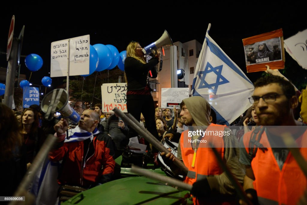 Israelis protest against goverment corruption