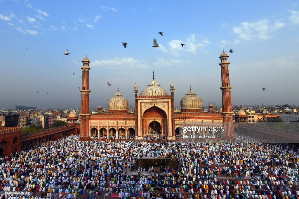 Muslims From Around The World Celebrate Eid With Religious Fervour : News Photo