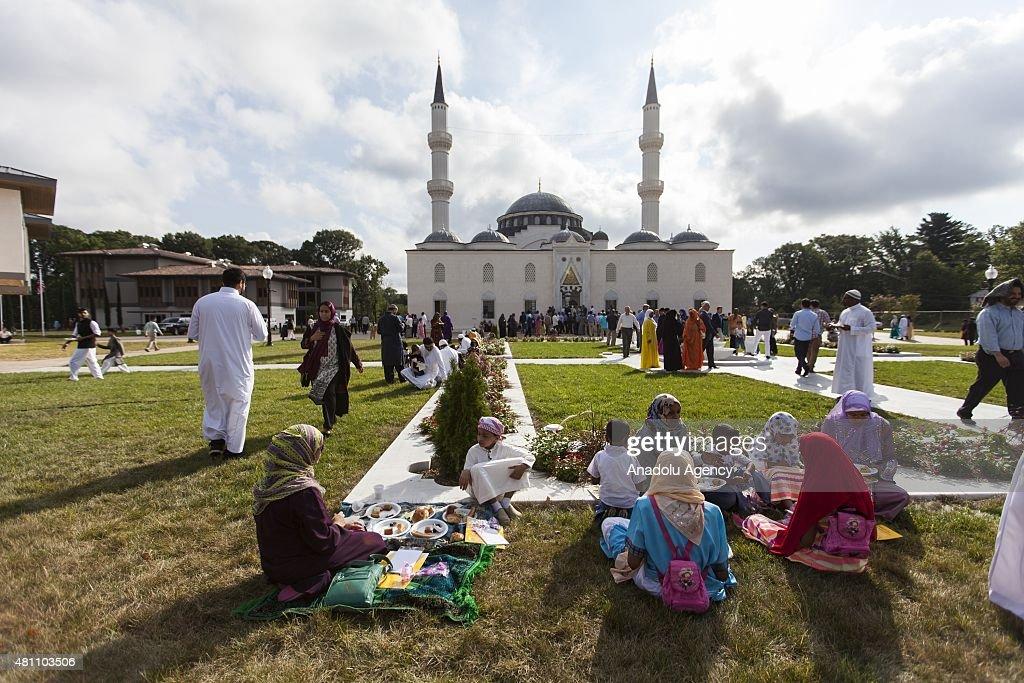 Eid al-Fitr Prayer in United States : Nieuwsfoto's