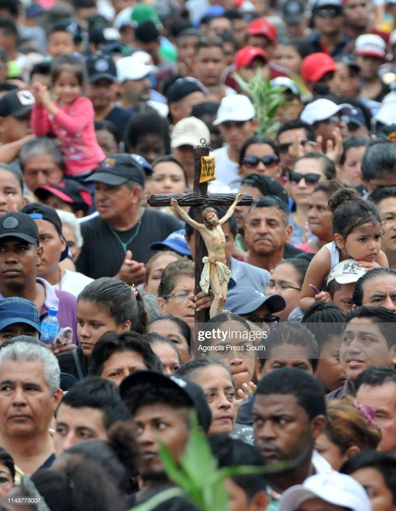 ECU: 'Cristo del Consuelo' Procession In Guayaquil