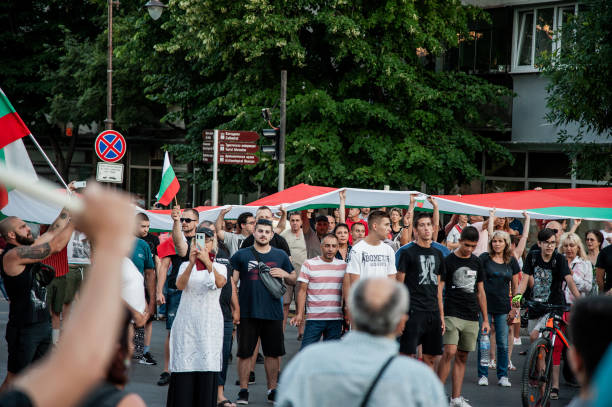BGR: Anti-Government Protest In Bulgaria
