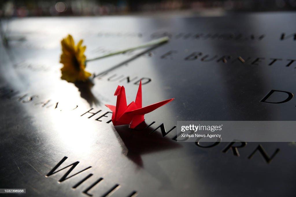 U.S.-NEW YORK-9/11-17TH ANNIVERSARY : News Photo