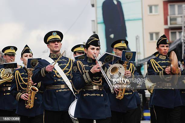 Thousands of people celebrate the 5th anniversary of the independence of Kosovo on the roads, but with much less enthusiasm than in 2008 when Kosovo...