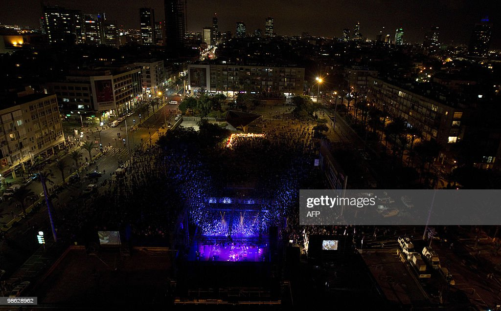 Thousands of people gather in Tel Aviv's : Nieuwsfoto's
