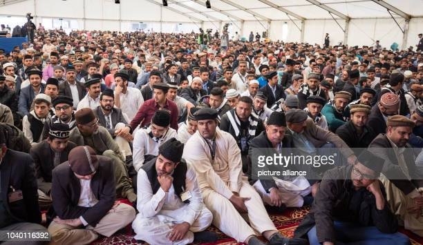 Thousands of people have gathered to hear Caliph Mirza Masroor Ahmad the spiritual leader of the Ahmadiyya Muslim Community on the grounds of a...