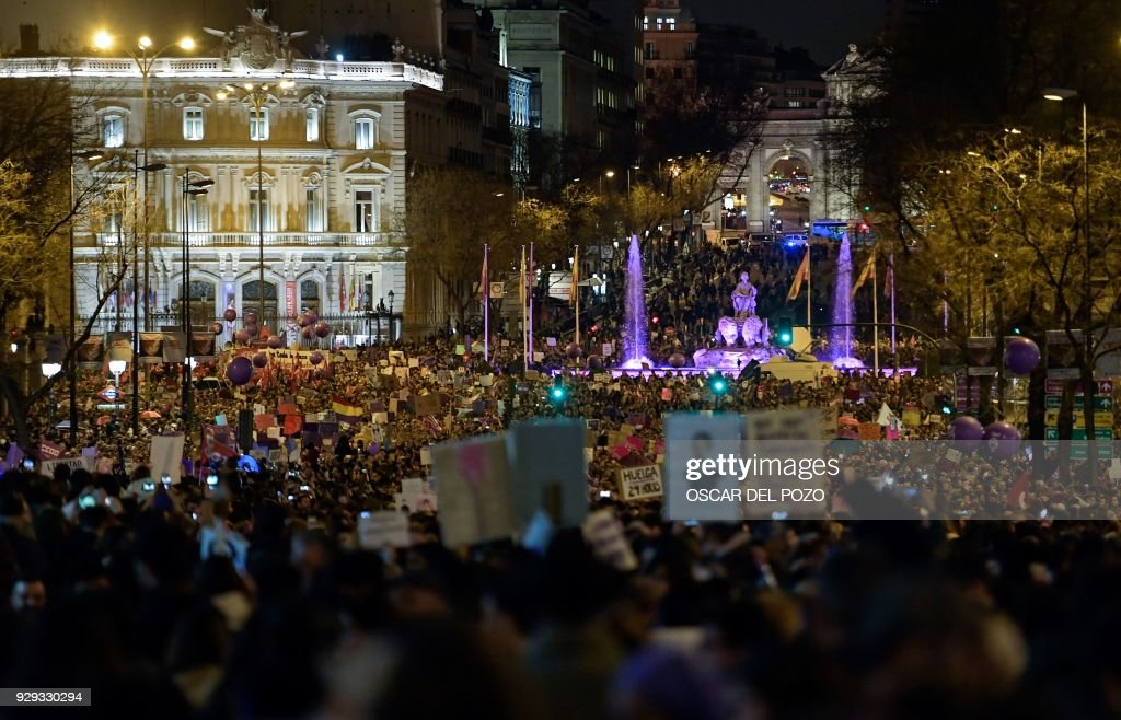 SPAIN-WOMEN-DAY : Fotografía de noticias