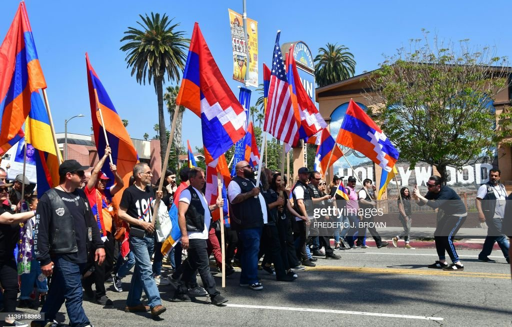 CA: Unified Young Armenians Hold March Commemorating Armenian Genocide