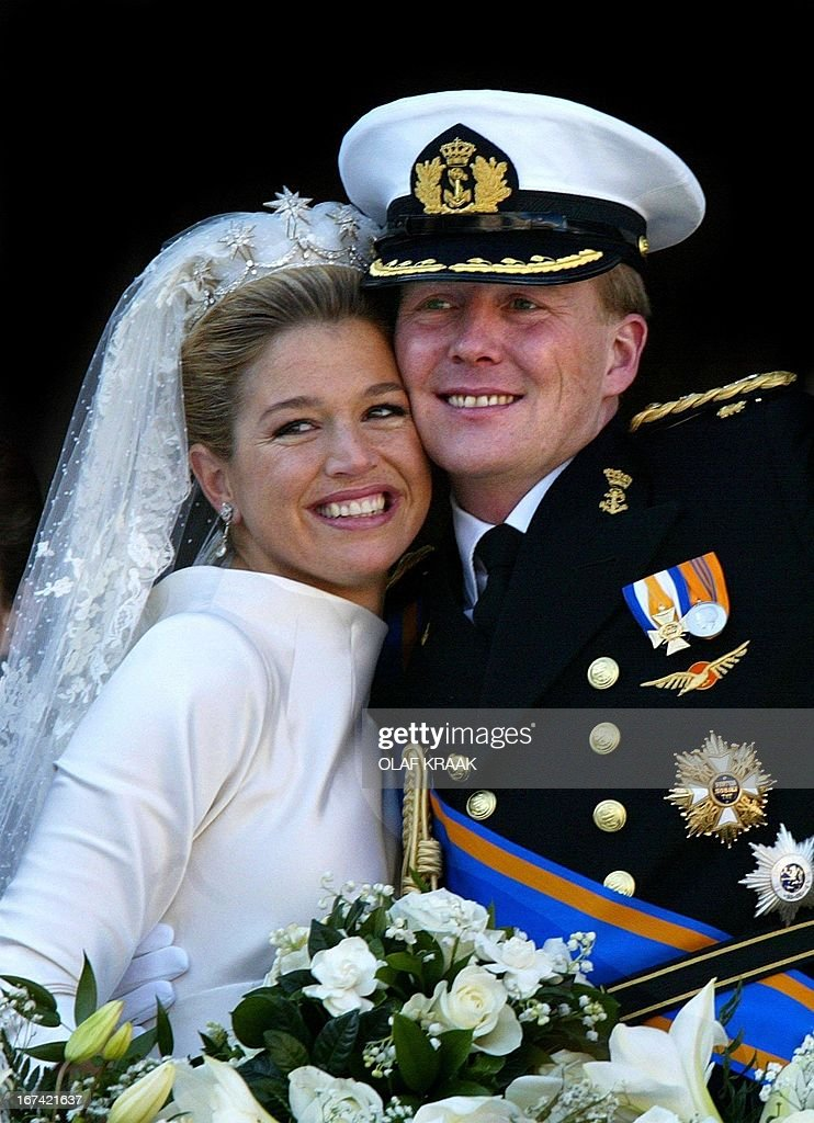 NETHERLANDS - WEDDING-PRINCE : News Photo