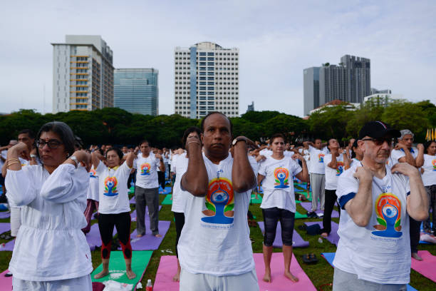 THA: International Day Of Yoga In Bangkok