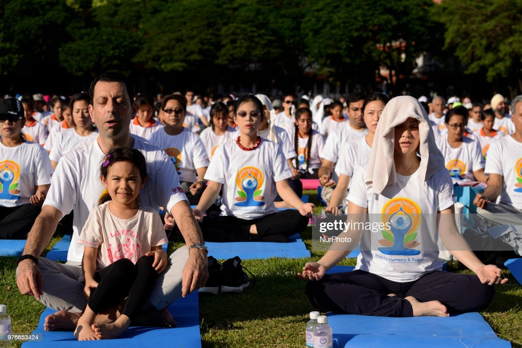 International Day Of Yoga In Bangkok