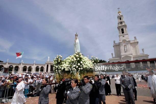 Thousands of pilgrims converged on Fatima Santuary to celebrate the anniversary of the Fatima miracle when three shepherd children claimed to have...